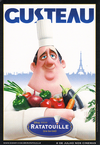 The Day I Caught the Train Gusteau Ratatouille
